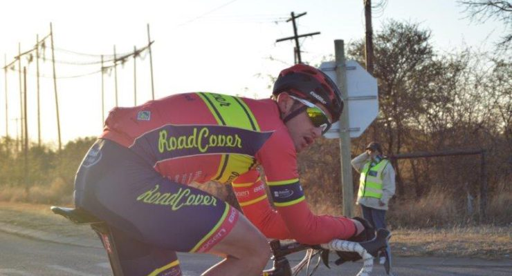 Pictured here is RoadCover's Willie Smit during the 20th edition of the Cycle4Cansa road race.