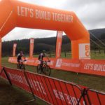 Aiden Connelly and Rogan Smart were the first team over the finish line on day two of the DR Evil Classic.