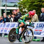 Ashleigh Moolman-Pasio at world champs time-trail