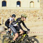Erik Kleinhans and Robert Hobson won stage one of Ride2Nowhere that took place in McGregor yesterday.