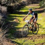Hannele Steyn won the overall women's title at the Namaqua Quest MTB Stage Race.