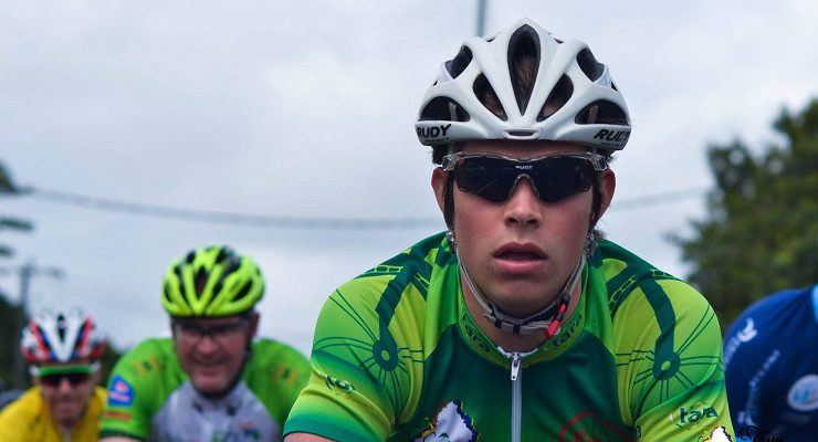 South Africa's Ryan Harris won the individual time trial on stage three of the Tour de Maurice.