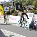 Konny Looser and Oliver Zurbrügg in action