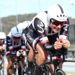 Team Sunweb won the wome's team time-trial on the first day of the UCI Road Wolrd Championships in Bergen, Norway, today.