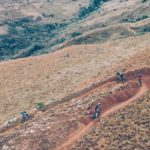 An image of some of the single track the Berg and Bush 'Descent' participants got to ride during the first day of the event.