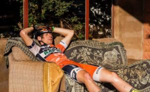 Day five was a bit tough for some of the Lesotho Sky riders.