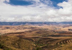 Blue skies at Lesotho Sky