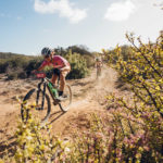 Ariane Luthi in action at Cape Pioneer Trek