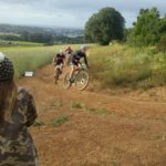 Mountain bikers in action during today's Durbie Dash MTB race that took place in Cape Town. Photo: Facebook/DurbieDash