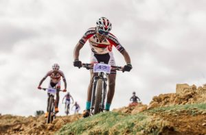 Riders in action at Lesotho Sky