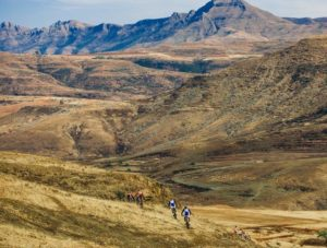 Lesotho Mountain scenery