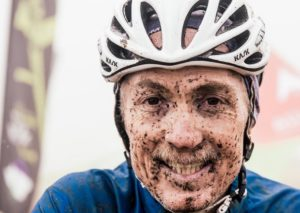 Muddied faces after Lesotho Sky faces