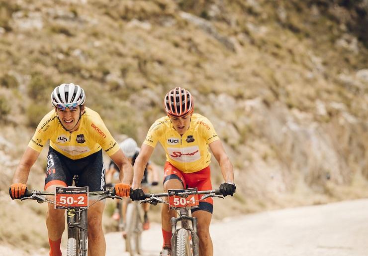 Powerhouse team Matt Beers and Alan Hatherly