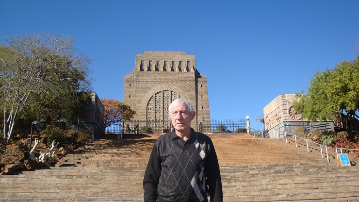 Tshwane Classic race spokesman Mauritz Meyer stands in front of the Voortrekker Monument, which will be the start and finish venue for the 98km road classic on November 5.