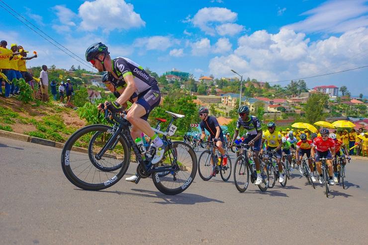 Kent Main at Tour du Rwanda