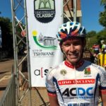 Luso Africa Cycling's Chris Jooste won the first Tshwane Classic