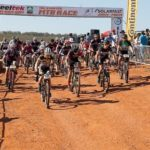 The start of the Steeltek MTB Classic