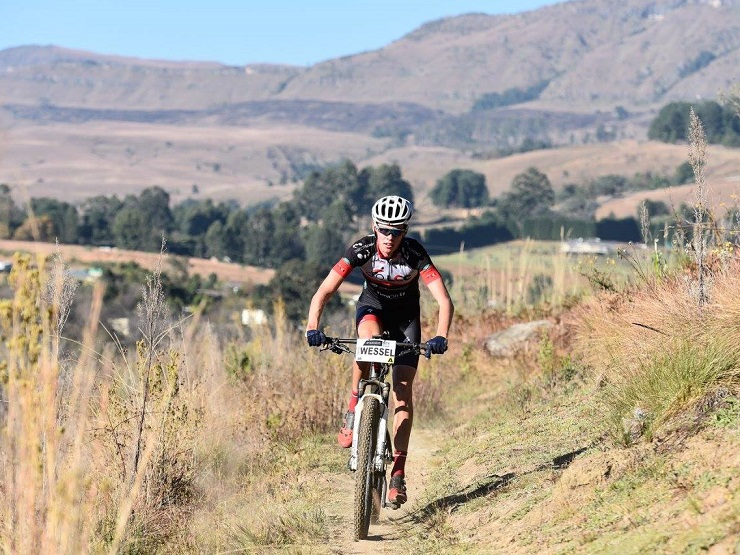 Wessel Botha in action