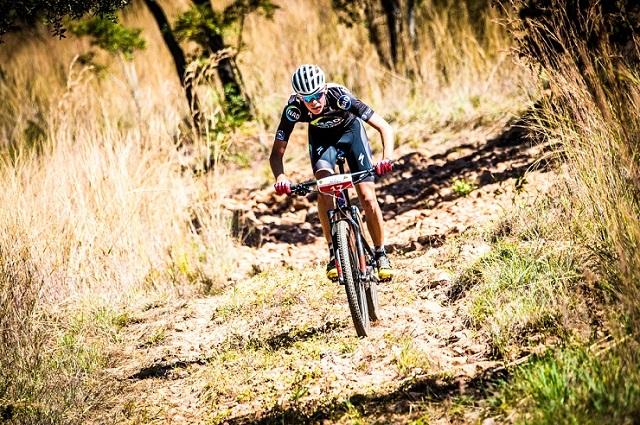 Wessel Botha at the Magalies Monster MTB