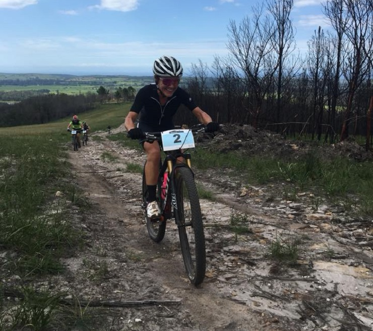 Andrea Shirley won the Longmore Classic, to make it two local wins in one weekend. Photo: Supplied.
