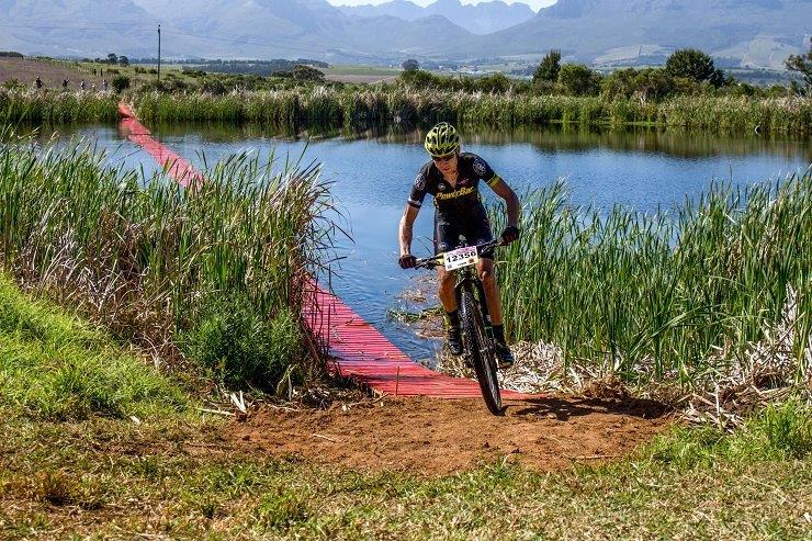 Team Topeak-Ergon physiotherapist Craig Gerber, will hope to help his team for the 2018 Cape Epic when he competes in the Race2Nowhere tomorrow. Photo: Supplied.