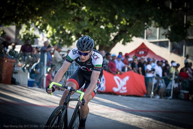 HB Kruger defied all odds to win the main 25-mile event at the Paarl Boxing Day on Tuesday. Photo: Owen Lloyd