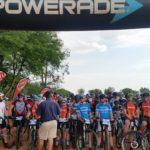 Brendan Havenga and Alma Bester won the short 20km solo men and women's race respectively, on day one at the Sondela 3-Day Stage Race. Photo: Abri Meyer