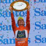 Daryl Impey getting to grips with Tour Down Under victory