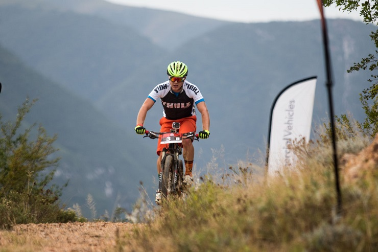 Jason Meaton, pictured here during the 2016 Great Zuurberg Trek, won the first round of the Eastern Cape XCO Series in Port Elizabeth on Saturday.