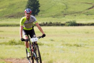 Julian Jessop in action during stage one of the 2018 Drak Descent.