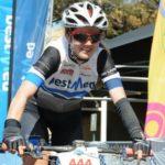 Kristen Louw in action.