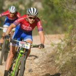 Candice Lill, pictured here, will team up with German Adelheid Morath in Team dormakaba SA colours for the Cape Epic in March. Photo: Marc Sampson