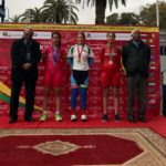 Courtney Smith made a big step-up to win six gold medals in six events at the African Continental Track Championships last week. Photo: Supplied