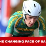 Willie Smit in National SA Colours