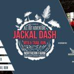 Logo for the Jackal Dash mountain bike race.