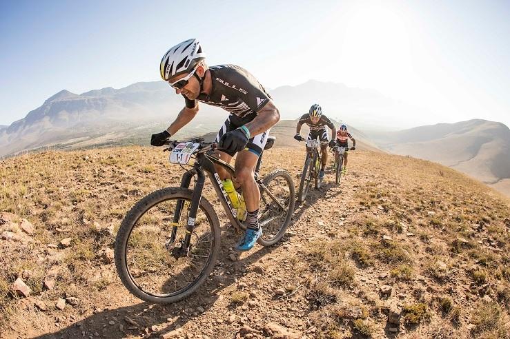 Karl Platt, Urs Huber at Cape Epic