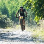 Nico Bell during the SA MTB Marathon Championships