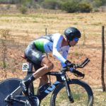 Stefan de Bod in action during the SA National Road Championships time-trial on Wednesday. Photo: Into Cycling