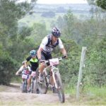 Mountain bikers at Tomato Trot & Cycle