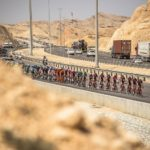 Dimension Data's Mark Cavendish claimed silver on stage one of the Tour of Oman today. Photo: Tour of Oman