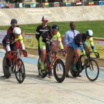 Wade Theunissen, Jean Spies, Hylton Belitzky at African Continental Track Championships
