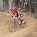 Annika Langvad pictured during the UCI Mountain Bike World Cup, which she won. Photo: Full Stop Communications
