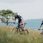 Matt Beers (right) and Nico Bell will be hoping to make a strong statement at the Cape Epic. Photo: Supplied