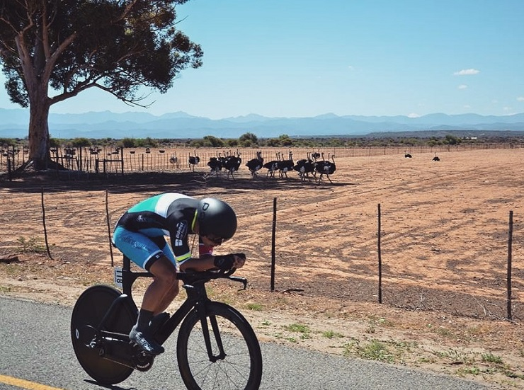 Ryan Harris in action. Photo: Into Cycling