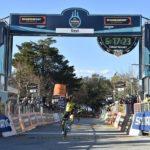 LottoNL-Jumbo's Primoz Roglic won the 239km third stage of the Tirreno-Adriatico in Italy today. Photo: @TirrenAdriatico