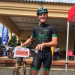 Alan Gordon, pictured here, was relieved to finally win the overall Sabie Xperience in Mpumalanga today. Photo: Supplied