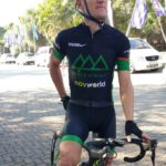 Alan Gordon, pictured here, won the 65km first stage of the Sabie Xperience in Mpumalanga today. Photo: Supplied