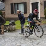 South Africa's Asleigh Moolman-Pasio (right) finished fourth in the Tour of Flanders in Belgium today. Photo: Velofocus