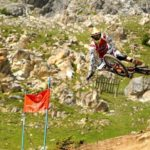 South Africa's Greg Minnaar, pictured here, finished ... in the UCI Mountain Bike World Cup downhill championships in Losinj, Croatia, today. Photo: Photo credits