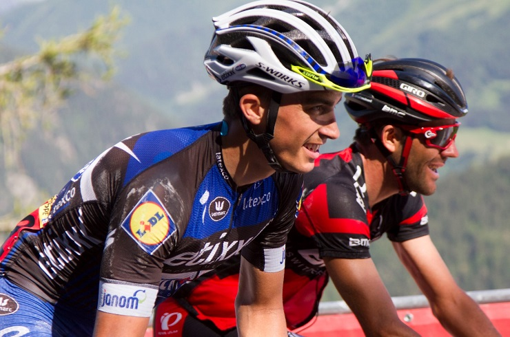 Julian Alaphilippe, pictured here at the Tour de France two years ago, won the La Fleche Wallonne in Belgium today. Photo: Photo Credits